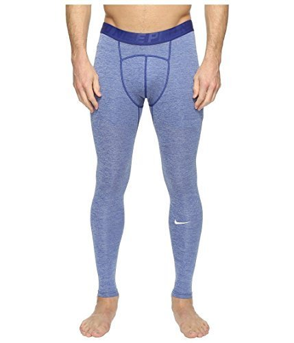 Nike Men's Pro Cool Tights Deep Royal Blue/Obsidian/White (s)