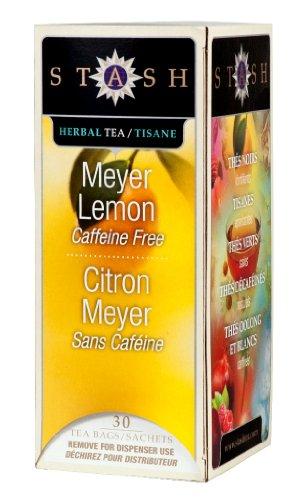 Stash Tea Meyer Lemon Herbal Tea 30 Count Tea Bags in Foil (Pack of 6) (Packaging May Vary) Individual Herbal Tea Bags for Use in Teapots Mugs or Cups, Brew Hot Tea or Iced Tea by Stash (Image #3)