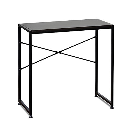 Furinno FCG149EX Besi Metal Frame Table, Espresso