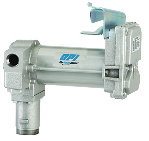 GPI 133240-3, M-3025-PO High Flow Cast Iron Fuel Transfer Pump, 12-VDC, 25 GPM, Straight Base, Pump Only by GPI (Image #2)