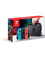 Nintendo Switch with Neon Blue and Neon Red Joy Con 32GB PAL
