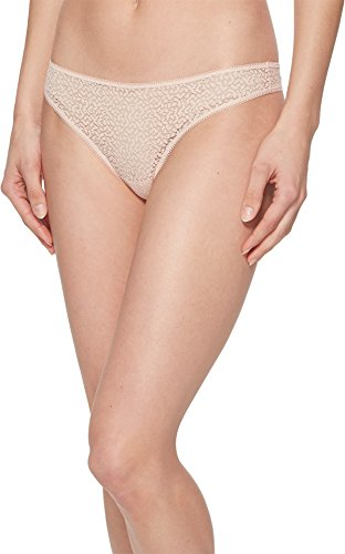 DKNY Modern Lace Thong, L, Rose Water