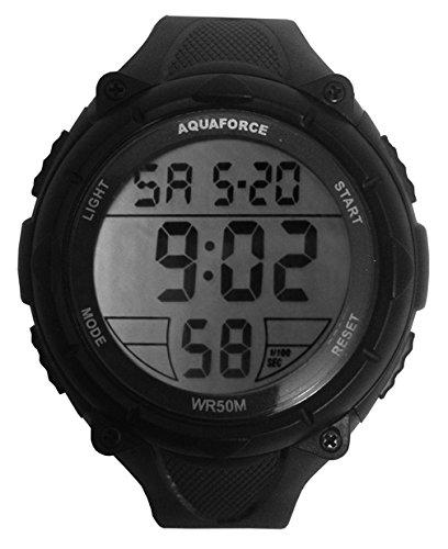 Aqua Force Jumbo Digital Watch with 50mm Face (Style 1) by Aqua Force B00W0I3F16