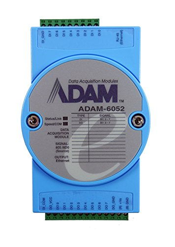 Advantech 16-Ch Source Type Digital Input / Output Module ADAM-6052-D