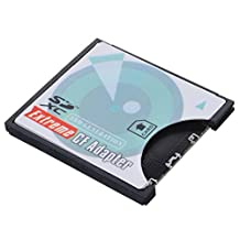 CY Camera SD SDHC SDXC to High-Speed Extreme Compact Flash CF Type I Memory Card Adapter