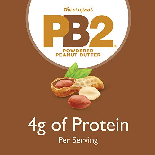 PB2 Powdered Chocolate Peanut Butter with Cocoa - 4g of Protein, 90% Less Fat, Certified Gluten Free, Only 50 Calories per Serving for Shakes, Smoothies, Low-Carb, Keto Diets [2 Lb/32oz Jar] (32oz) 8
