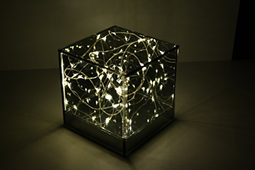 Infinity Mirror LED Cube Decorative Centerpiece