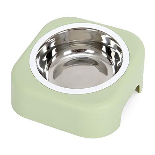 Dog Cat Bowls Pet Food Bowl Dog Bowl Dog Bowl Single Bowl Dog Bowl Tableware Anti-flip Cat Food Dog Food Oblique Mouth Eating Bowl Pet Feeding & Watering Bowls (Color ()