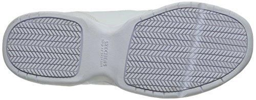 De White Caminar Skechers Albie 76555 Trabajo Holgado El Zapato Para zOzwvY