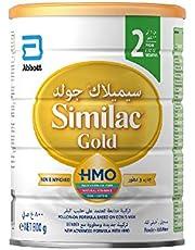 حليب ذو تركيبة متبعة يحتوي علي سكريات حليب الأم قليلة التعدد لسن 6-12 شهر، من سيميلاك جولد 2، 800 غرام