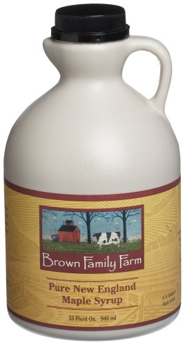 Amazon.com : Brown Family Farm Maple Syrup, Pure Vermont Grade A ...