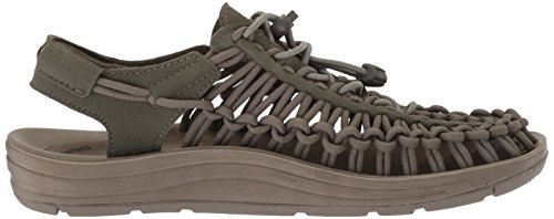 Women's Keen Uneek Dusty Sandal Brindle W Olive qqvr8n