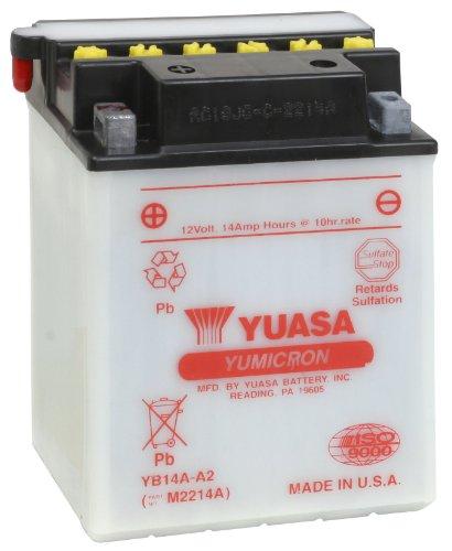 (Yuasa YUAM2214A YB14A-A2 Battery)