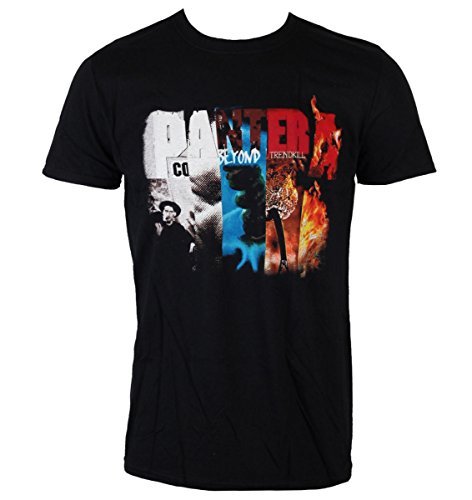 Männer Shirt Pantera - Album Collage - ROCK OFF - PANTS09MB XXL