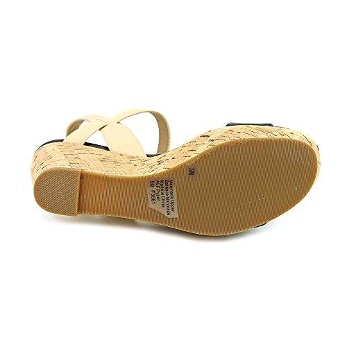 Toe Sandal Pyper Pale Open Alfani Wedge Synthetic Black xzUXw4