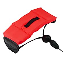 First2savvv PF-XJ-A08 red Bobber Floating floaty grip Handheld digital camera SLR hand strap grip for OLYMPUS u mju tough 8000 u mju 5000 u mju 5010 u mju wp u mju 7000 u mju 7010 u mju 7030 u mju 7040 u mju 9000 u mju 9010 with LENS Cleaning Cloth