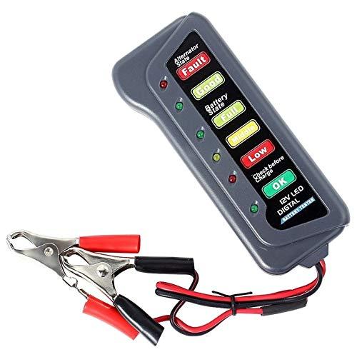 Outtybrave 12 V Auto Digital Batterietester Voltmeter Lichtmaschine Ladesystem Analyzer