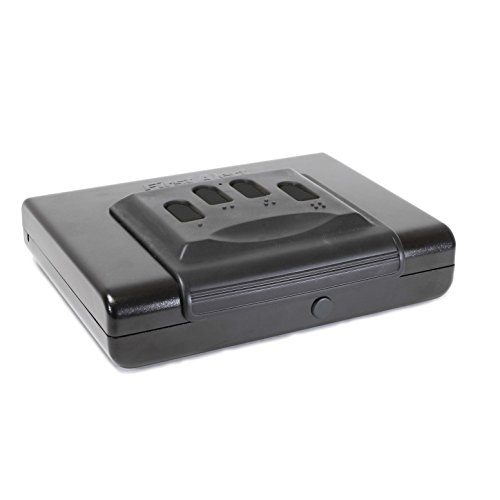 First Alert Portable Handgun Safe, Small Multicolor, RA31524