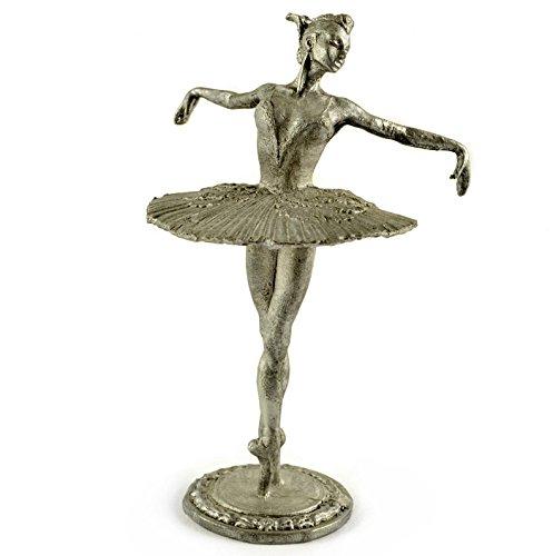 USSR. Ballerina Maya Plisetskaya 1959 year. Metal sculpture. Collection 54mm (scale 1/32) miniature figurine. Tin toy soldiers