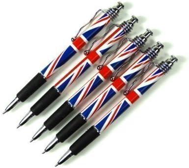 Set de 5 Bolígrafos - Diseño Union Jack - Souvenir de Londres ...