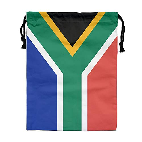Flag Of South Africa Drawstring Bag Travel Bag Storage Bags Pocket by LzVong