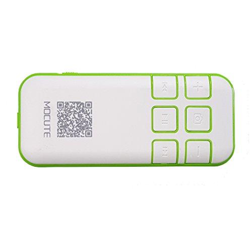 Morjava®Mini Portable Wireless Bluetooth Controller Joystick Remote Gamepad Music Player Camera Shutter Google Cardboard Virtual Reality Headset 3d Glasses for Mobile Phones PC(green)