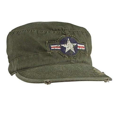 Rothco Fatigue Caps (Rothco Vintage Air Corps Fatigue Cap, Olive Drab, Large)