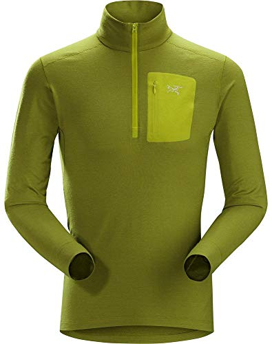 Arc'teryx Satoro AR Zip Neck LS Men's (Archipelago, Medium)