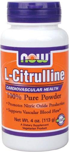 NOW Foods L-citrulline en poudre, 4 oz