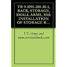 TB 9-1095-200-30-1, RACK, STORAGE, SMALL ARMS, M11: INSTALLATION OF STORAGE RACK ADAPTER, Ref: TM 9-1095-200-15P, 1963