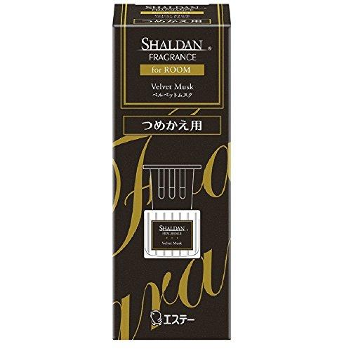 ささいな狂乱カウボーイシャルダン SHALDAN フレグランス for ROOM 芳香剤 部屋用 部屋 つめかえ ベルベットムスク 65ml