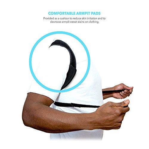 Posture Corrector - Posture Brace - Upper Back Posture Support - Clavicle Orthopedic Support Posture Corrector - Kyphosis Unnoticeable Posture Corrector - Shoulder Support Adjustable [eBook Included] by AireSupport (Image #3)