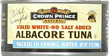 Crown Prince Natural Solid White Albacore Tuna in Water, 12 Ounce -- 12 per case. by Crown Prince