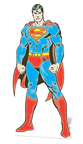 DC Comics Star Cutouts Sc636 Superman Cardboard Cut Out