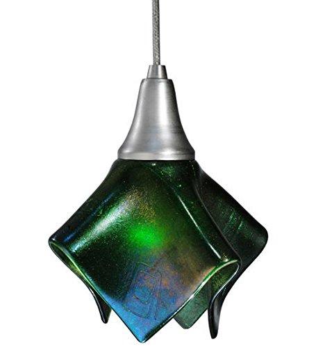 - Meyda Tiffany 115821 Metro Fusion Aventurine Handkerchief Mini Pendant, 8