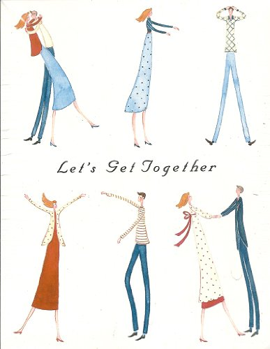 Let's Get Together Adult Party Invitations 8 Count
