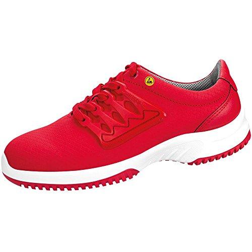 Abeba 31764-40 Uni6 Chaussures de sécurité bas ESD Taille 40 Rouge