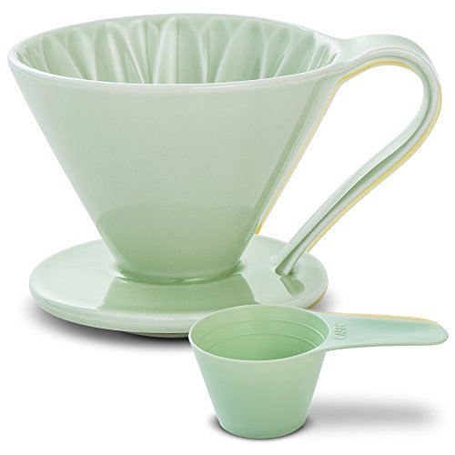 Sanyo Sangyo Porcelain Pour Over Coffee Maker -  1 to 4 cups