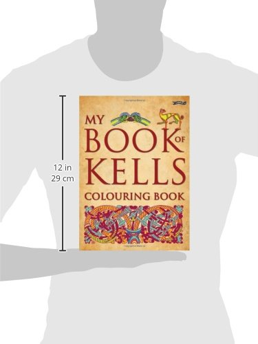 My Book Of Kells Colouring The Secret Eoin OBrien David Rooney 9781847172747 Amazon Books