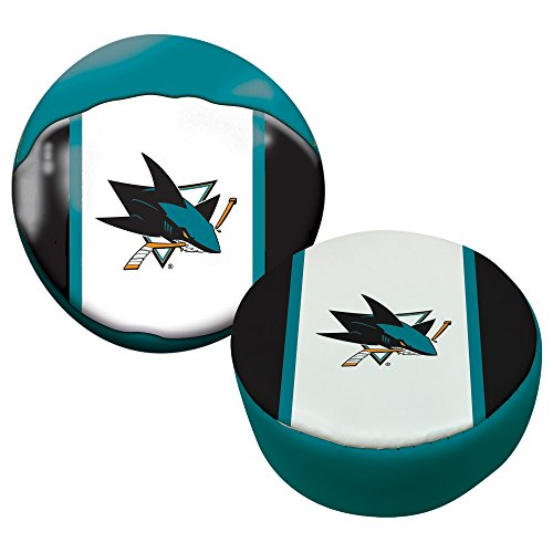 Franklin Sports NHL San Jose Sharks Soft Sport Ball & Puck Set ()
