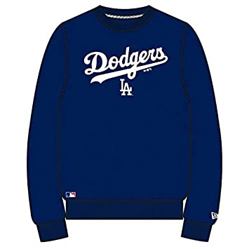 New Era Team Apparel Crew Neck Los Angeles Dodgers Sweat Homme