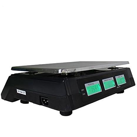Báscula Digital Windur Basic M468 (capacidad max. 30Kg + panel posterior retroiluminado p/ clientes): Amazon.es: Bricolaje y herramientas