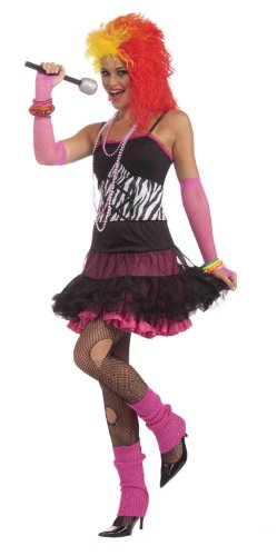 Price comparison product image Forum To The Maxx Collection Dance Party Princess Costume, Pink/Black, Standard