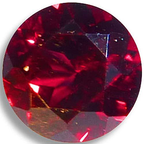 OptimaGem Chrome Pyrope Garnet Round 3mm-5mm Loose Gemstones (4mm)