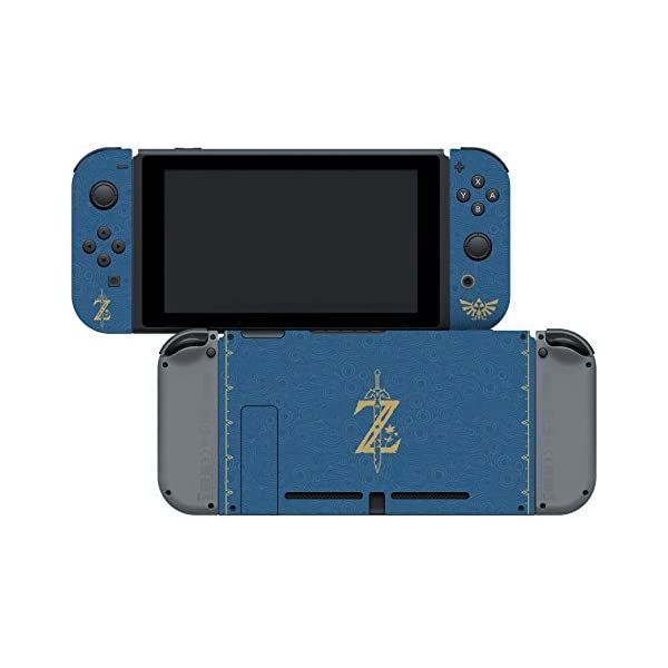 """Controller Gear Nintendo Switch Skin & Screen Protector Set, Officially Licensed By Nintendo - The Legend of Zelda Breath of the Wild """"The Legend of Zelda"""" - Nintendo Switch 4"""