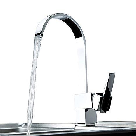 Ouku® miscelatori cucina cucina a parete moderna cucina rubinetto in ...