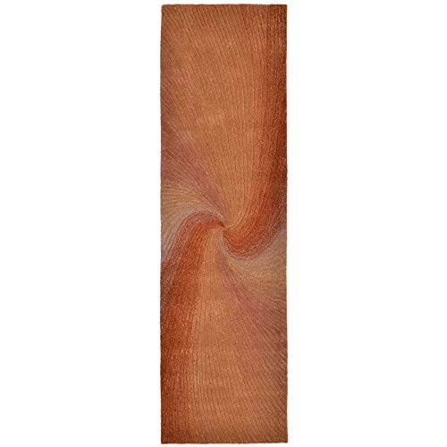 (Trans Ocean Liora Manne Dunes 9102/27 Waves Sunset Area Rug 27 Inches X 8 Feet)