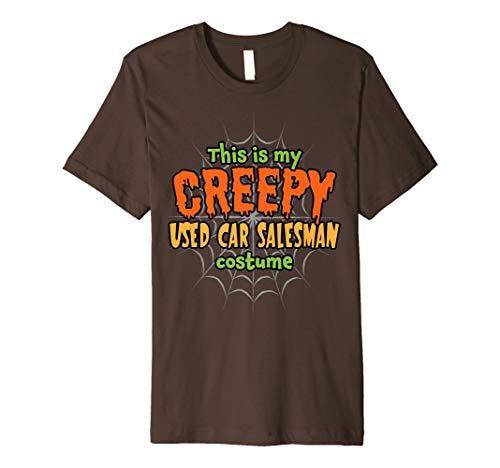 Mens Creepy Used Car Salesman Costume Halloween T-Shirt