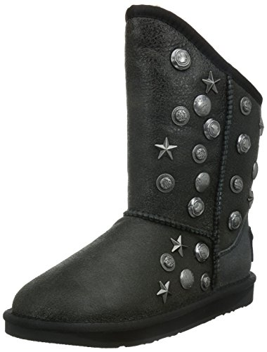 Australia Luxe Collective Women's Angel Short Boot, Distressed Black, 38 M EU/7 M (Australia Boots)