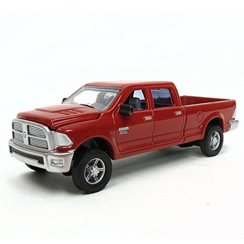 (TOMY 1/64th 2012 Dodge Ram 2500 Heavy Duty Laramie in Red)